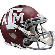 Riddell Texas A&M Aggies Speed Revolution Authentic Full-Size Football Helmet