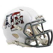 Riddell Texas A&M Aggies Stars and Stripes Speed Mini Football Helmet