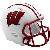 Riddell Wisconsin Badgers Pocket Single Helmet