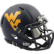 Riddell West Virginia Mountaineers Satin Speed Mini Helmet