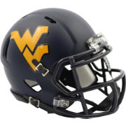 Riddell West Virginia Mountaineers Satin Speed Mini Helmet