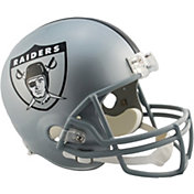 Riddell Oakland Raiders VSR4 Deluxe Throwback '63 Full-Size Football Helmet
