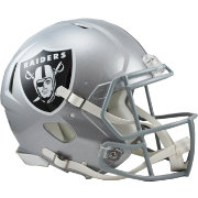 Riddell Oakland Raiders Revolution Speed Football Helmet
