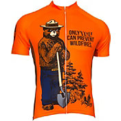 Retro Image Men's Smokey the Bear Cycling Jersey