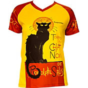 Retro Image Women's Chat Noir Cycling T-Shirt