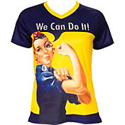 Retro Image Women's Rosie the Riveter Cycling T-Shirt