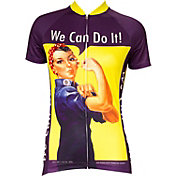 Retro Image Women's Rosie the Riveter Cycling Jersey