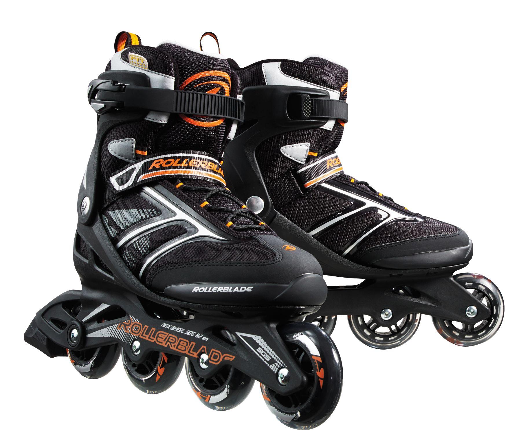 Roller skates for plus size - Product Image Rollerblade Men S Zetrablade Inline Skates