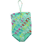 Roxy Little Girls' Surfs Up Logo Swimsuit