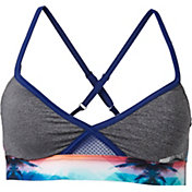 Roxy Women's Endless Sunny Daze Criss Cross Bikini Top
