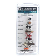 Superfly Grab 'N Go Terrestrial Fly Fishing Assortment Pack