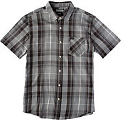 RVCA Men's Waas Button Down Short Sleeve Shirt