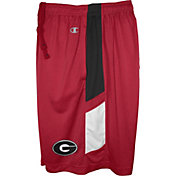 Champion Men's Georgia Bulldogs Red Elite Performance Shorts