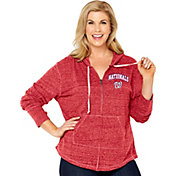 Soft As A Grape Women's Washington Nationals Red Hoodie