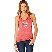 Soft As A Grape Women's Cincinnati Reds Red Shadow Tank