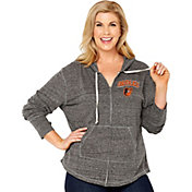 Soft As A Grape Women's Baltimore Orioles Grey Hoodie