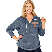 Soft As A Grape Women's Detroit Tigers Navy Hoodie