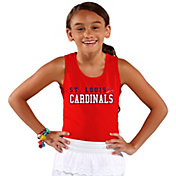 Soft As A Grape Youth Girls' St. Louis Cardinals Red Tank Top