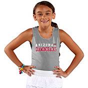 Soft As A Grape Youth Girls' Arizona Diamondbacks Grey Tank Top