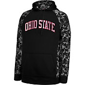 Scarlet & Gray Men's Ohio State Buckeyes Black Huntley Hoodie