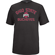 Scarlet & Gray Men's Ohio State Buckeyes Black Vital T-Shirt