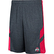 Scarlet & Gray Men's Ohio State Buckeyes Gray Trident Shorts