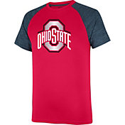 Scarlet & Gray Men's Ohio State Buckeyes Scarlet/Gray Contender T-Shirt