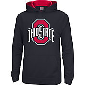 Scarlet & Gray Youth Ohio State Buckeyes Tribute Black Fleece Hoodie