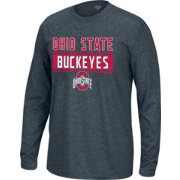 Scarlet & Gray Youth Ohio State Buckeyes Gray Callout Long Sleeve Shirt