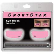 SportStar Pink Eye Black Stickers w/ Pencil