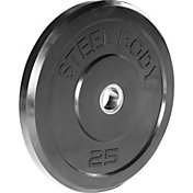 Steelbody 25 lb. Rubber Bumper Plate