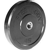 Steelbody 45 lb. Rubber Bumper Plate