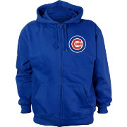 Stitches Men's Chicago Cubs Royal Full-Zip Hoodie