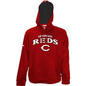 Stitches Men's Cincinnati Reds Pullover Red Hoodie