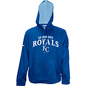 Stitches Men's Kansas City Royals Pullover Royal Hoodie