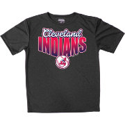 Stitches Youth Cleveland Indians Black T-Shirt