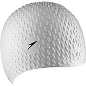 Speedo Bubble Silicone Swim Cap