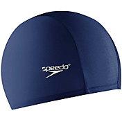 Speedo Solid Lycra Long Hair Swim Cap