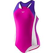 Speedo Girls' Infinity Splice Swimsuit