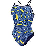 Speedo Girls' Scoubidou Flyback Swimsuit