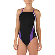 Speedo Women's Endurance+ Launch Splice Cross Back Swimsuit
