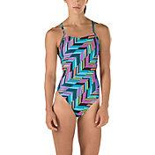 Speedo Women's Angles Free Back Swimsuit