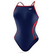 Speedo Women's Rapid Spliced Energy Back Swimsuit