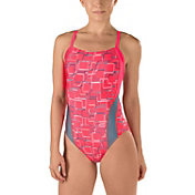 Speedo Women's Color Circuit Fly Back Swimsuit