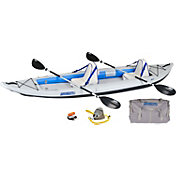Sea Eagle 385 Fast Track Deluxe Tandem Kayak Package