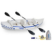 Sea Eagle 330 Deluxe Tandem Inflatable Kayak Package