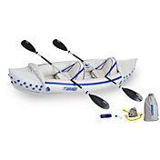 Sea Eagle 330 Pro Tandem Inflatable Kayak Package