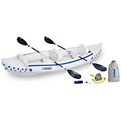 Sea Eagle 370 Deluxe Tandem Kayak Package