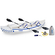 Sea Eagle 370 Pro Tandem Inflatable Kayak Package