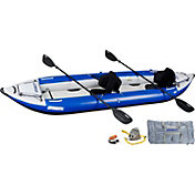 Sea Eagle 420 Explorer Pro Tandem Kayak Package